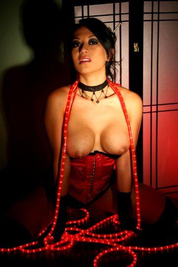 Glamourmodelsgonebad Gianna Lynn Red Corset