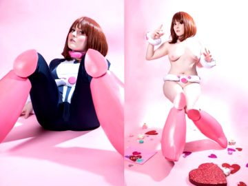 Happy Vday From Uravity By Foxy Cosplay
