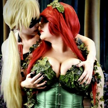 Harley Quinn And Poison Ivy By Victorya And AJ