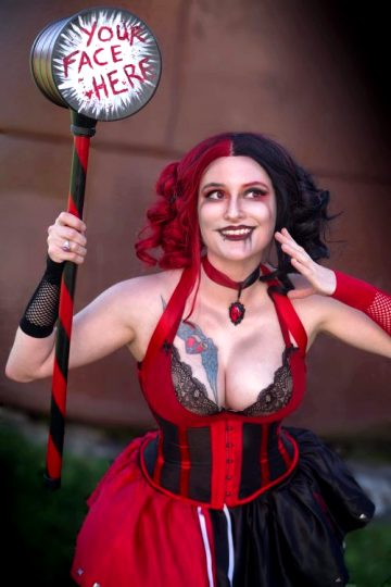 Harley Quinn From Batman By Captive Cosplay NSFW