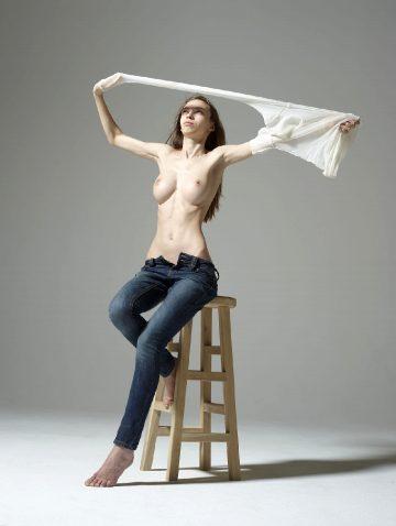 Hegre-art Aya Beshen – Studio Sitting