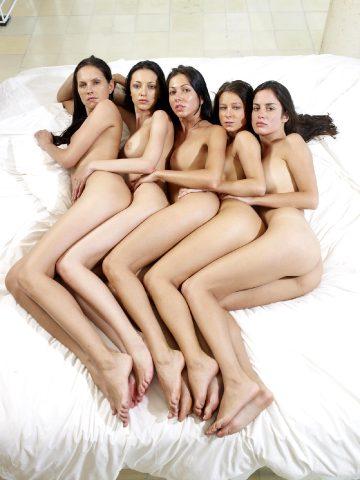Hegre-art Melisa Anna Brigi Muriel Suzie – Bed Formations