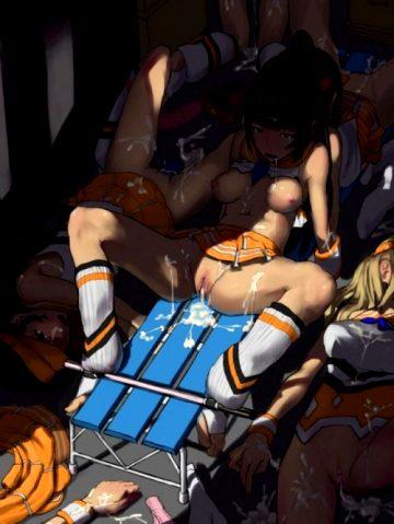 Hentai post locker room orgy cumsluts