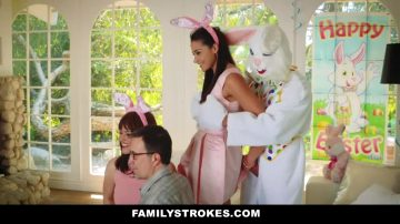 Hot Teen Fucked By Easter Bunny Step Uncle
