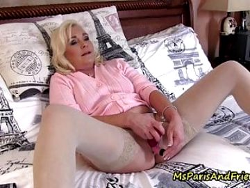How Ms Paris Prepares Her Panties for Delivery