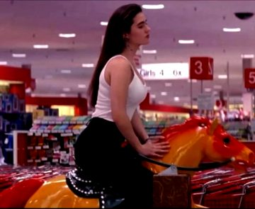 Jennifer Connelly Riding The Horse In Career Opportunities