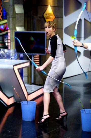Jennifer Lawrence Shooting Arrows