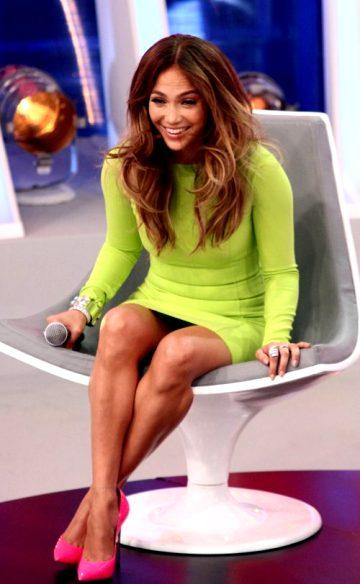 Jennifer Lopez At Melhor Do Brasil TV Show In Sao Paulo, 2012