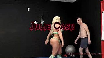 Julie Cash And A Lucky Guy