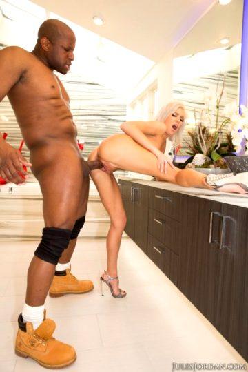 Kacey Jordan – Enjoying Her 1st Big Black Cock
