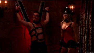 Kaley Cuoco As S Dominatrix In The Big Bang Theory