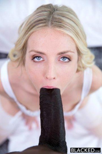 Karla Kush – Stunning Blonde Takes Massive Black Cock