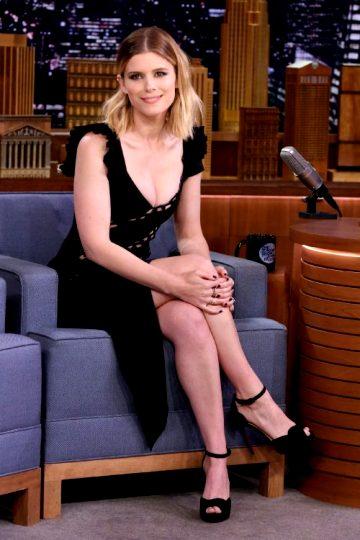 Kate Mara In Jimmy Fallon Show