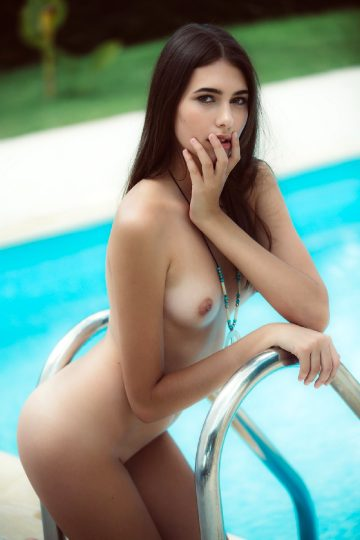 Katrine Pirs Peaceful Poolside
