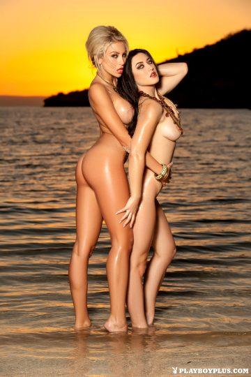 Khloe And Stefanie Shipwrecked