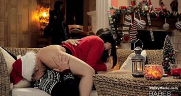 Kinkymarieofficial – Christmas Surprise Step Mom Lessons Babes