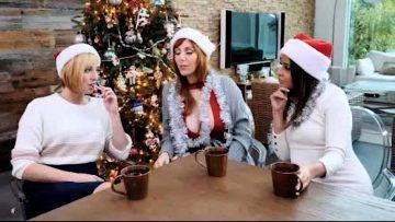 Lauren Phillips, Natasha Ianova, Kate England – A Bad Mylfs Xmas