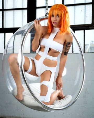 LeeLoo From The Fifth Element By Liz Katz