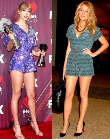 Legs: Taylor Swift Vs Blake Lively