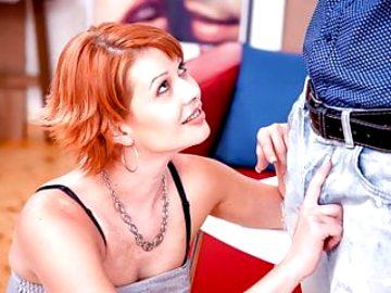 LETSDOEIT -Czech Model Lucy De Light First Photoshooting Sex