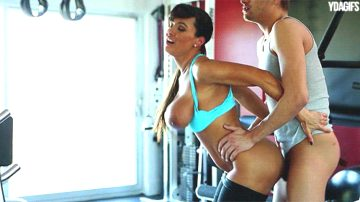 Lisa Ann Horny Workout