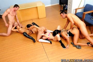 Long Live Brazzers – Jenaveve Jolie Lisa Ann Madison Scott Sienna West – Big Tits At School