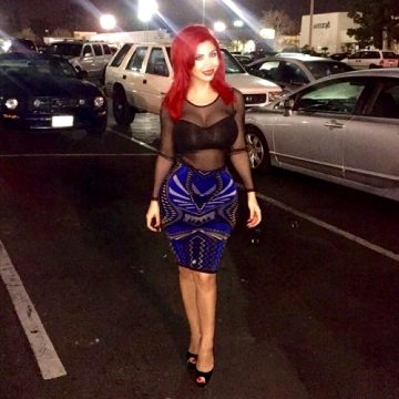 Love The Outfits And The Bright Red Hair Slutty