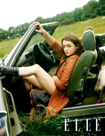 Maisie Williams Need A Ride