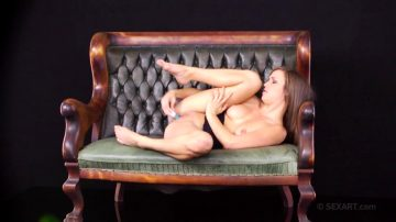 Malena Morgan Squirting During An Interview