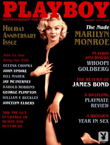 Marilyn Monroe Playboy Celebrity Set 1