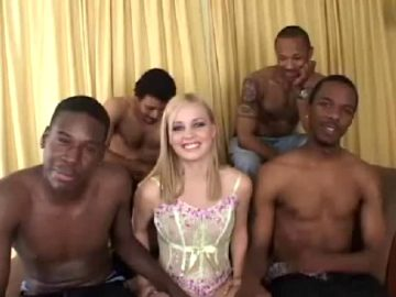 Mary Anne – Black Attack Gangbang #19