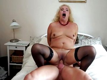 Mature mothers suck and fuck strong sons