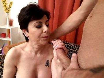 Mature mothers take hard cocks