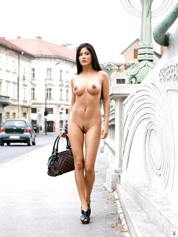 Michaela Grauke Stripping In Public Places