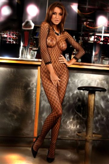 Monika Pietrasinka Shows The Right Wear To Wear A Bodystocking – Great On Any Occasion – Set One Of Two