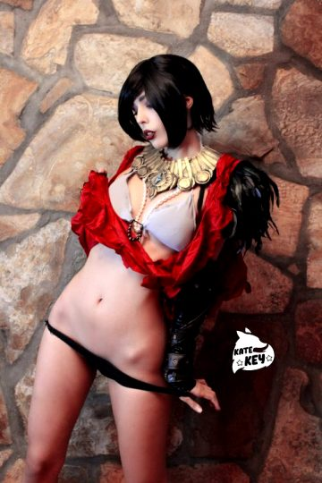 Morrigan From Dragon Age Erocosplay ? – By Kate Key