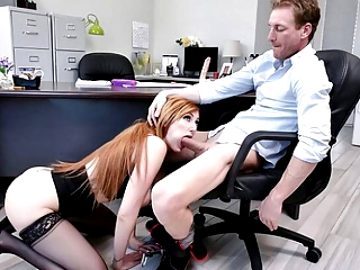 MYLF – Hot Ginger Boss Gets Fucked By BWC Employee