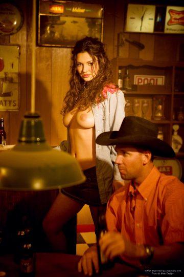 Mystique-magazine Amiee Rickards Cowgirl