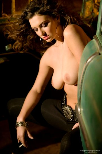 Mystique-magazine Amiee Rickards Sultry Taxi
