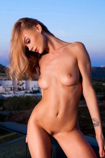 Nancyace Nancy Naked On The Sunset