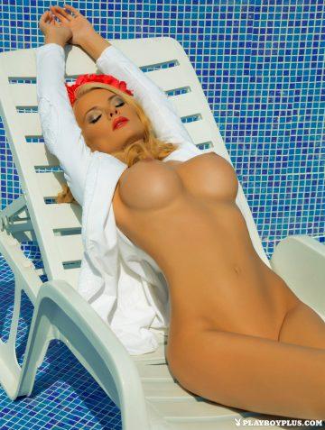 Nelly Georgieva Poses Boldly For The Cameras