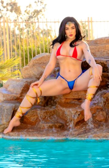 Nicole Marie Jean – Bikini Wonder Woman