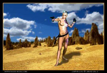 Nude Muse Erin The Siren