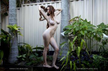 Nude Muse Penni Garden Wall