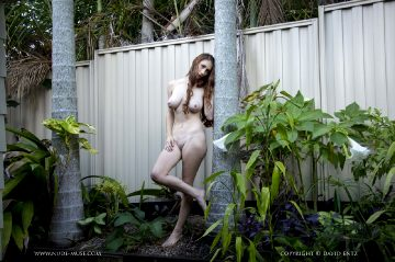 Nude Muse Penni Garden Wall