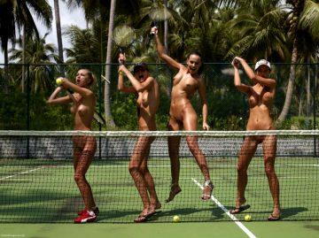 Nude Tennis