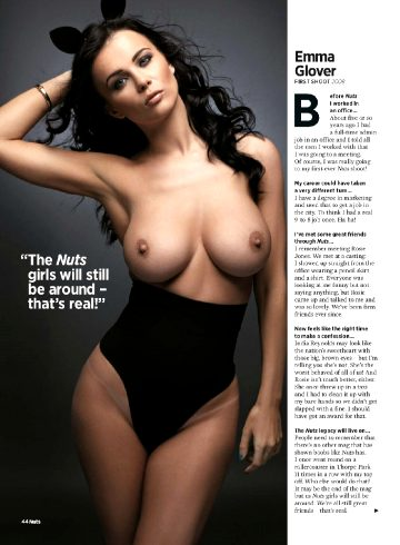 Nuts Magazine Is Over The Final Shoot Nuts Magazine Retires After 10 Years Of Existence 2004 2014 For Their