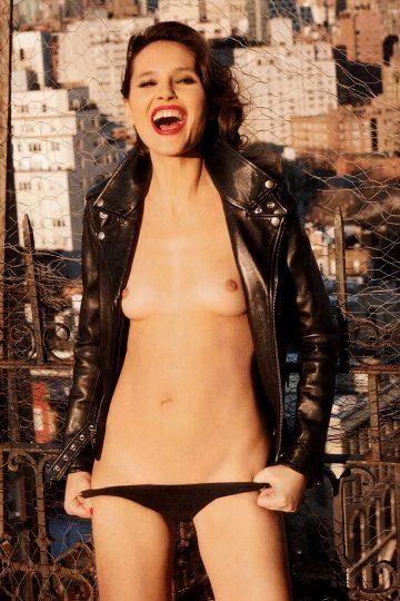 Ohfree Virginie Ledoyen Topless For Lui Magazine France 001