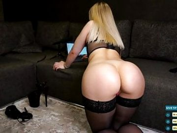 One of the best asses on webcam