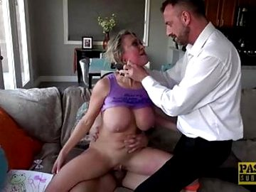 PASCALSSUBSLUTS – Busty MILF ass hammered and pussy toyed
